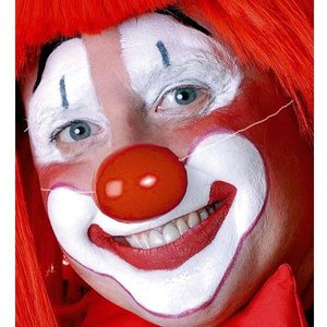 Clownsneus plastic met elastiek
