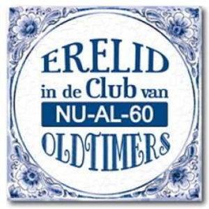 Bedwelming Grappige 60 jaar verjaardag cadeaus - Feestartikelen.nl @XM39