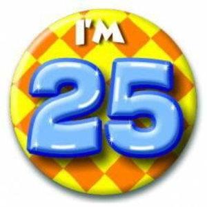 Button 25 jaar