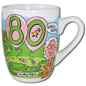 Mok cartoon 80 jaar