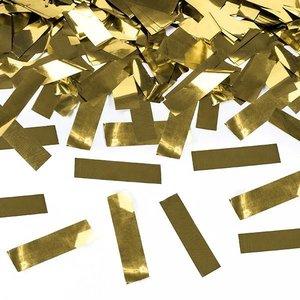 Confetti Cannon luxe goudkleurig
