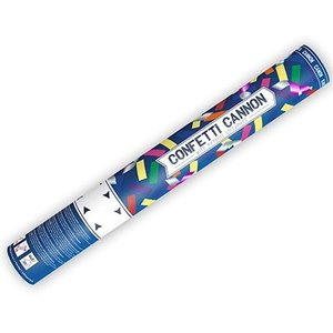 Confetti Cannon gekleurd 40cm
