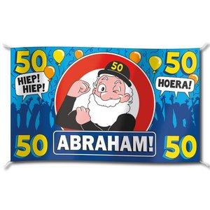 Vlag Abraham groot
