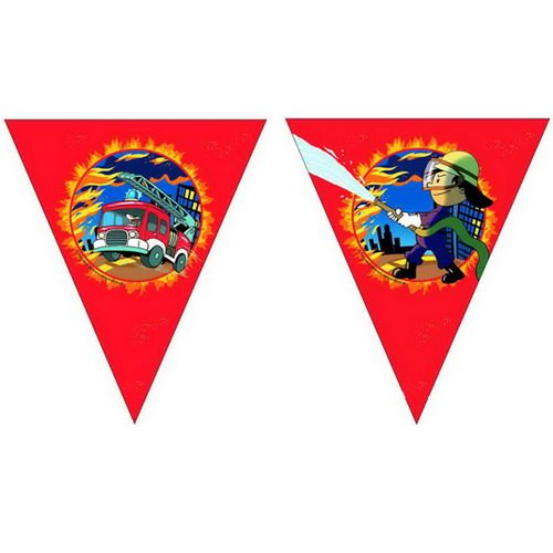 Kinderfeestje brandweer hangdecoratie