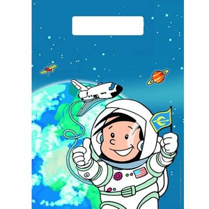 Feestzakjes Astronaut 8 stuks