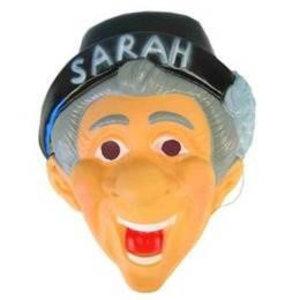 Masker Sarah met hoed