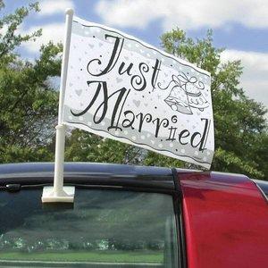 Autovlag Just Married