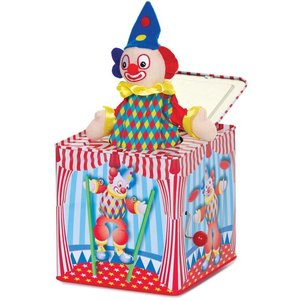 Jack in the box clown