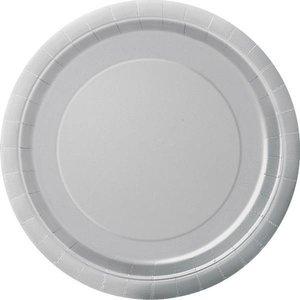 Bordjes zilver 8 stuks