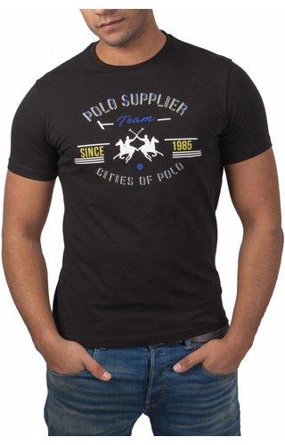 La Martina La Martina ® T-Shirt zwart, Polo Supplier