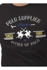 La Martina ® T-Shirt zwart, Polo Supplier