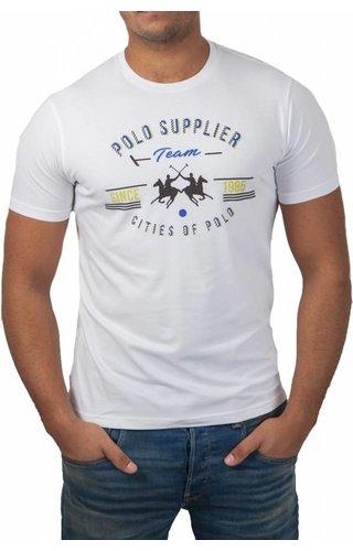 La Martina La Martina ® T-Shirt wit, Polo Supplier