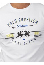 La Martina ® T-Shirt wit, Polo Supplier