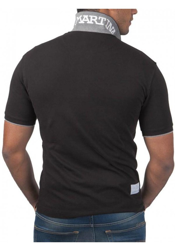 ® Poloshirt Logo, Zwart