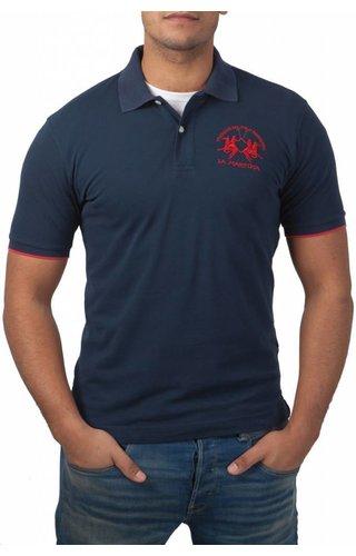 La Martina La Martina ® Poloshirt Logo, Donkerblauw