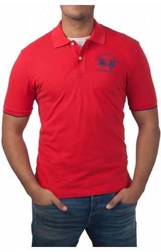 La Martina La Martina ® Poloshirt Logo, Rood