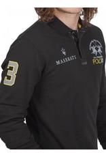 La Martina ® Polo Maserati, Zwart