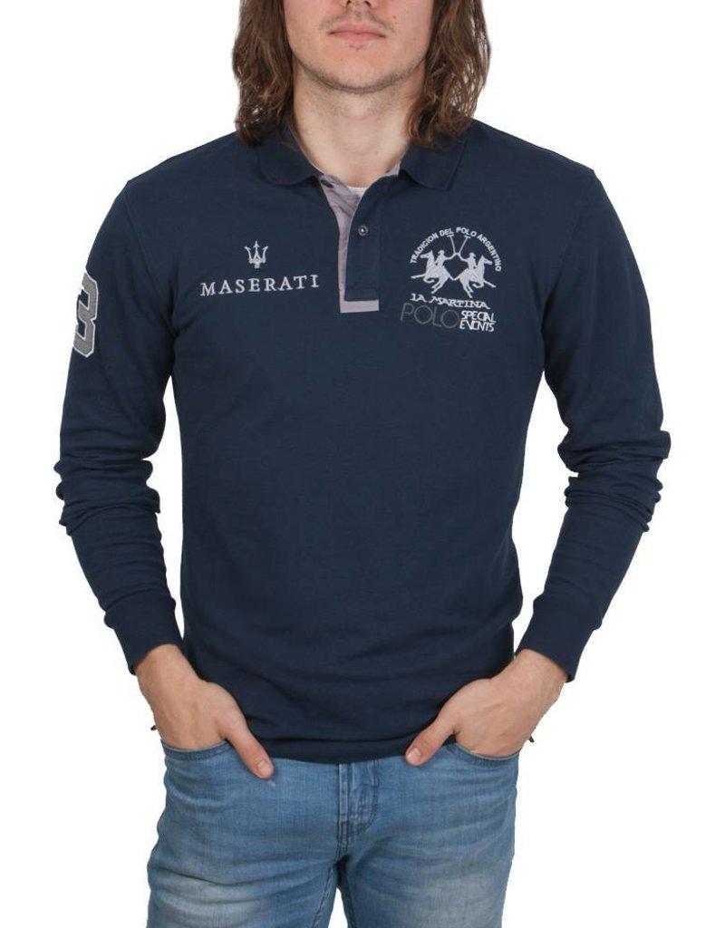 La Martina ® Polo Maserati, Donkerblauw