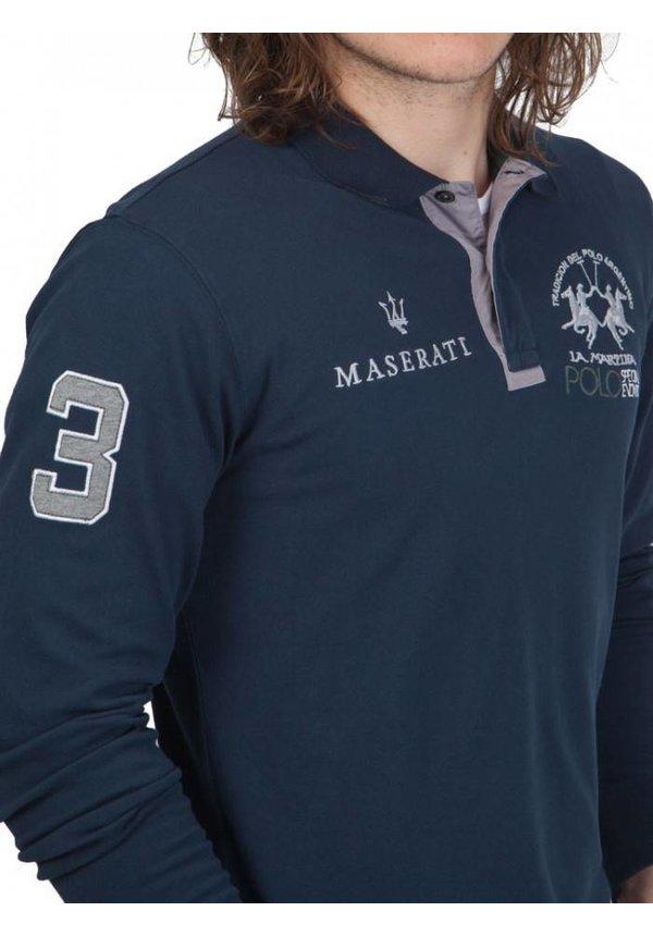 ® Polo Maserati, Donkerblauw