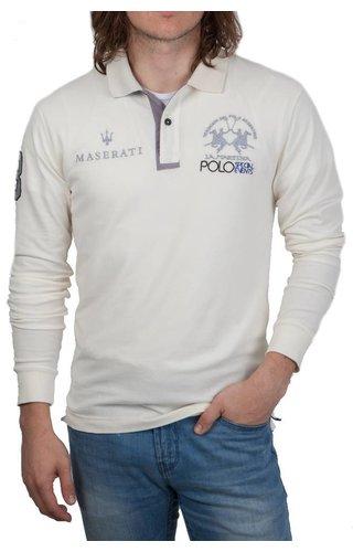 La Martina La Martina ® Polo Maserati, off-White