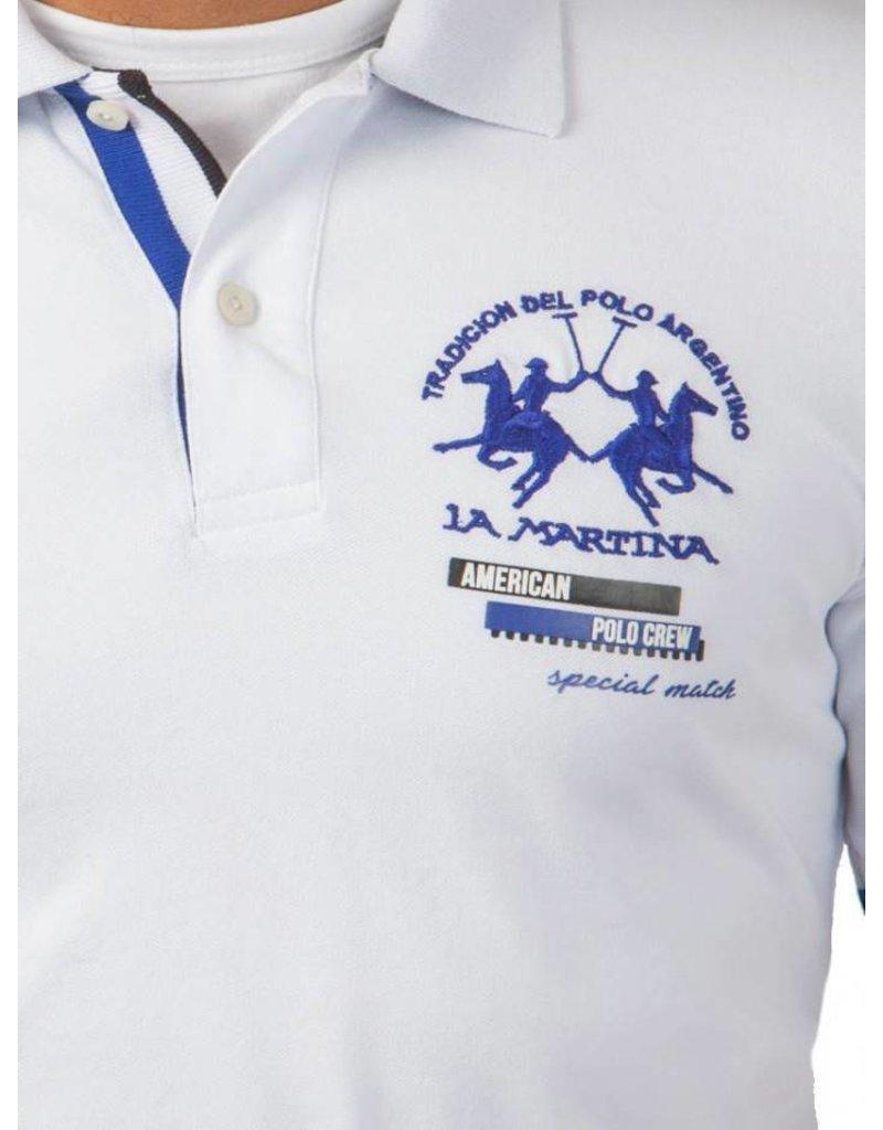 La Martina ® Poloshirt Polo Crew, WIt