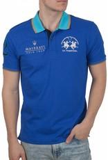 La Martina ® Poloshirt Maserati, Blauw