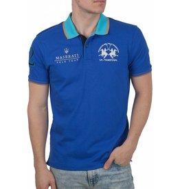 La Martina La Martina ® Poloshirt Maserati, Blauw