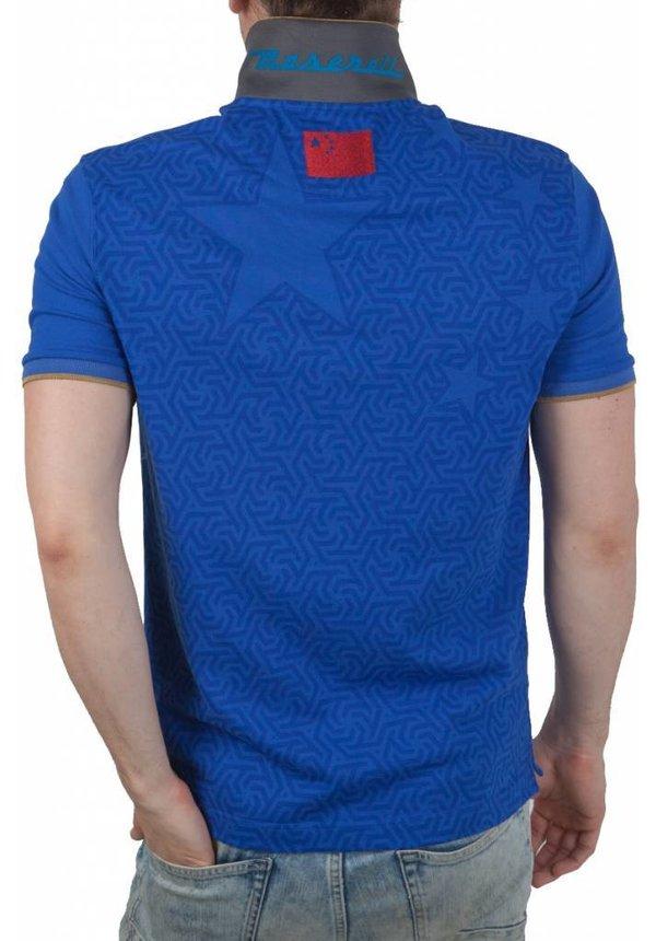 ® Poloshirt Maserati, Blauw