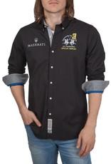 La Martina ® Overhemd Maserati, zwart