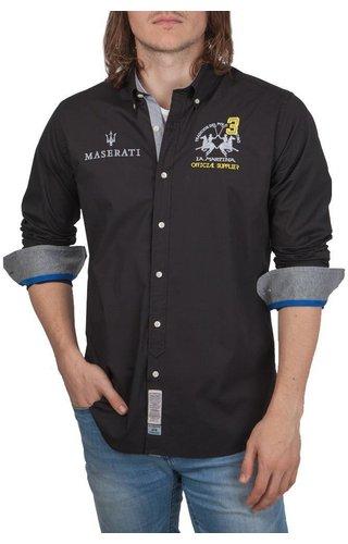 La Martina La Martina ® Overhemd Maserati, zwart