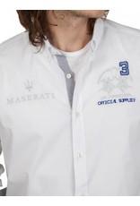 La Martina ® Overhemd Maserati, wit