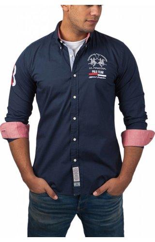 La Martina La Martina ® Overhemd Poloteam, donkerblauw