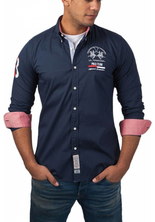® Overhemd Poloteam, donkerblauw