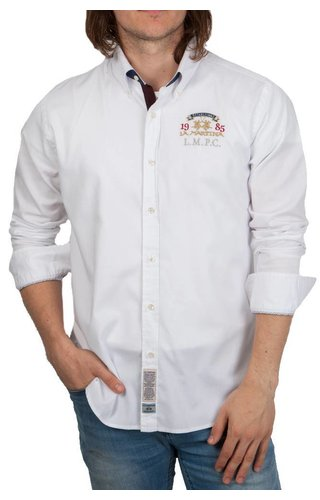 La Martina La Martina ® Overhemd Oxford L.M.P.C.