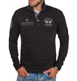 La Martina La Martina ® Sweatshirt zwart, Maserati