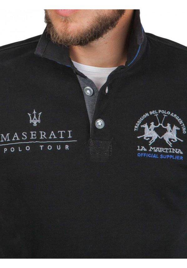 ® Sweatshirt zwart, Maserati