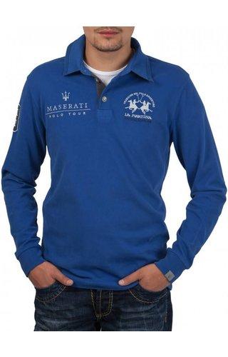 La Martina La Martina ® Sweatshirt French-Blue, Maserati