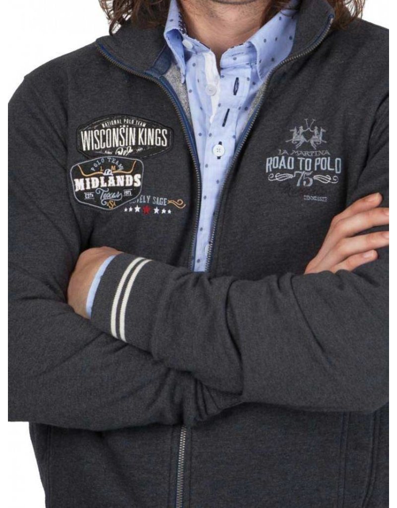 La Martina ® Sweatvest Wisconsin Kings