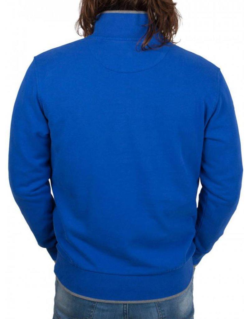 La Martina ® Sweatshirt Logo, Kobalt