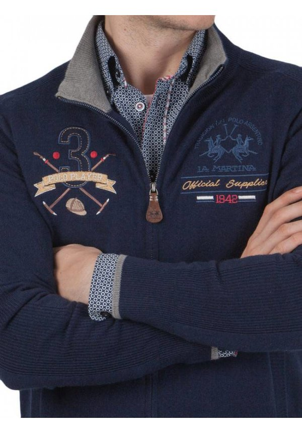 ® Vest Polo Player, donkerblauw