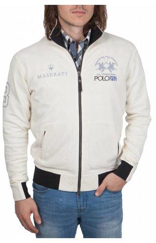 La Martina La Martina ® Sweatvest Maserati, off White