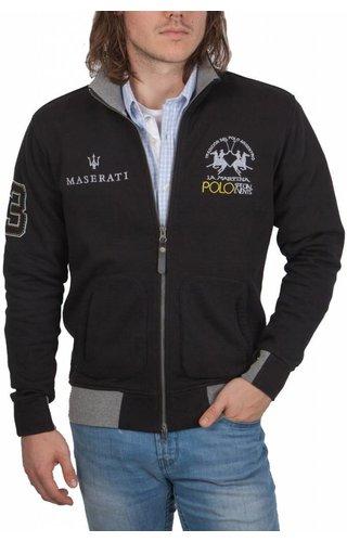 La Martina La Martina ® Sweatvest Maserati, zwart