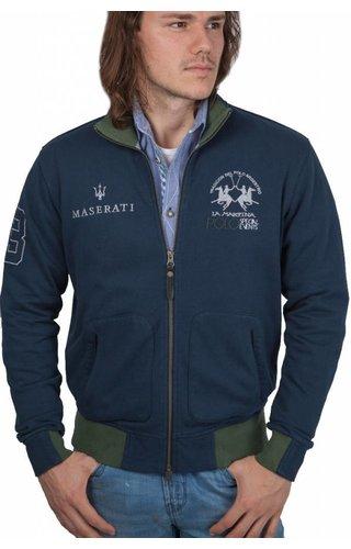 La Martina La Martina ® Sweatvest Maserati, donkerblauw