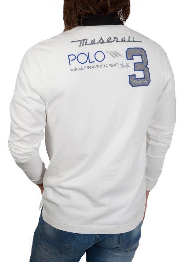 ® Sweatshirt Maserati, off White