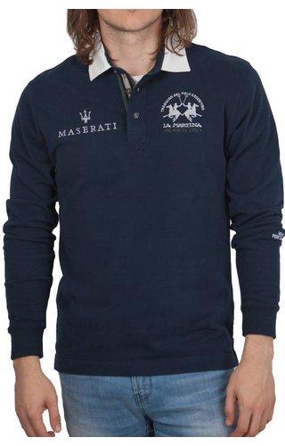 La Martina La Martina ® Sweatshirt Maserati, donkerblauw
