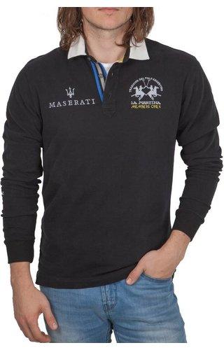 La Martina La Martina ® Sweatshirt Maserati, zwart