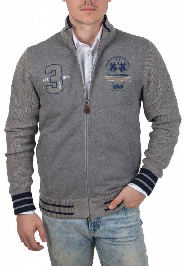 ® Sweatvest University Polo Club, grijs