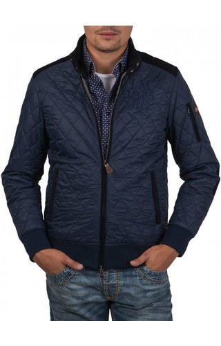 La Martina La Martina ® Stepped Jacket, Donkerblauw