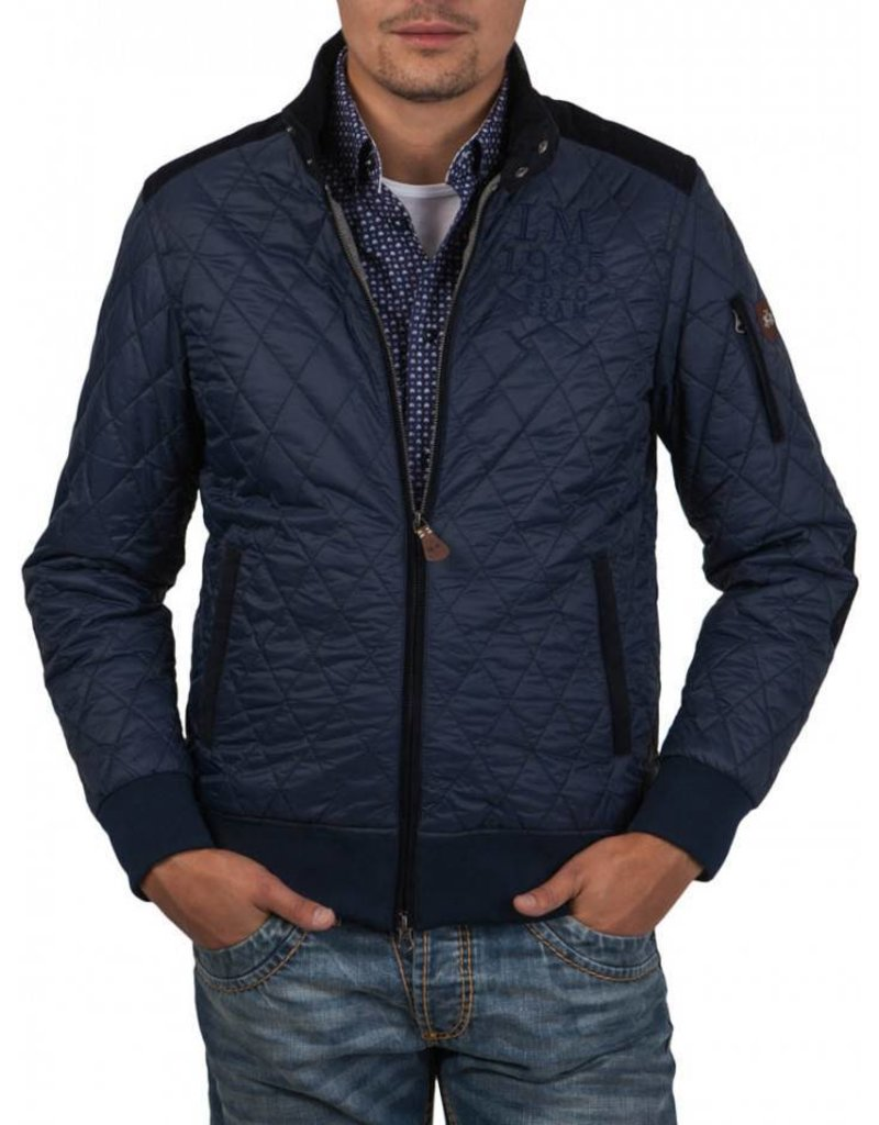 La Martina Stepped Jacket, Donkerblauw