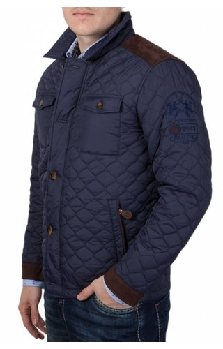 La Martina La Martina ® Stepped Jacket, Donkerblauw